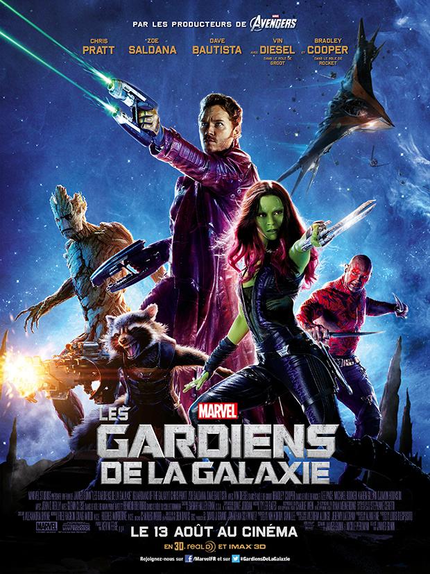 Affiche Guardiens de la galaxie