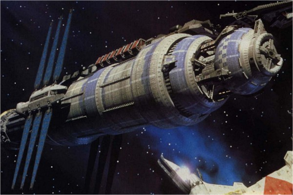 La station spatiale Babylon 5