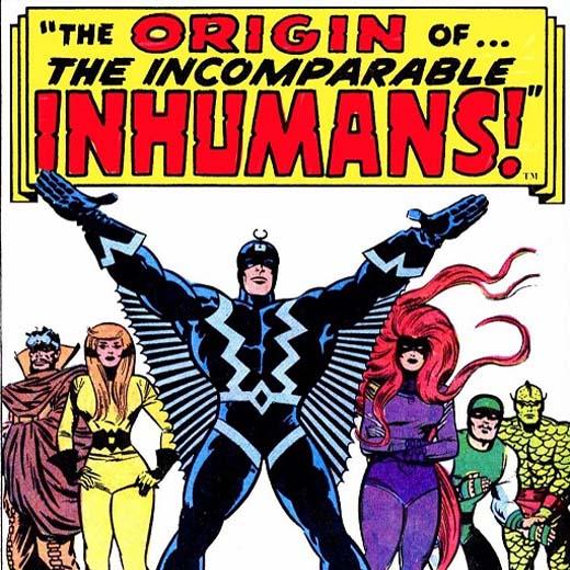 Marvel prête à adapter The Inhumans au cinéma?