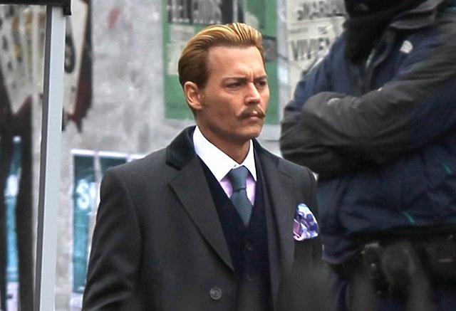 Premières images de «Mortdecai» avec Johnny Depp