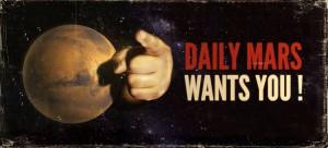 DailyMarsWantsYou