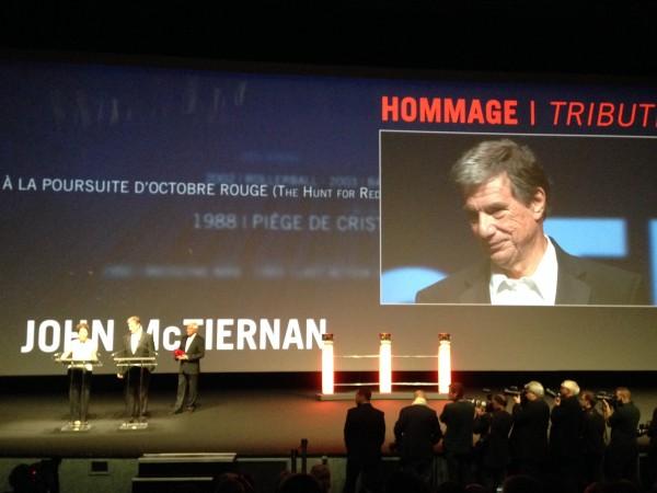 Deauville, lundi 8 décembre : John McTiernan et un discours politique qui va faire du bruit...