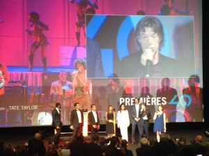Mick Jagger vient d'apprendre que des journalistes du Daily Mars sont dans la salle...