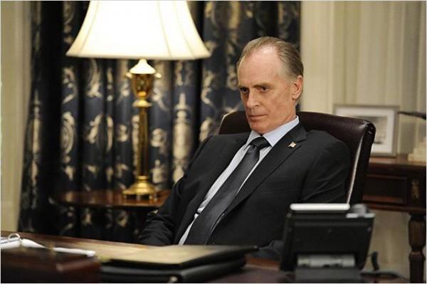 Keith Carradine, nouveau Potus des séries télé. Photo CBS
