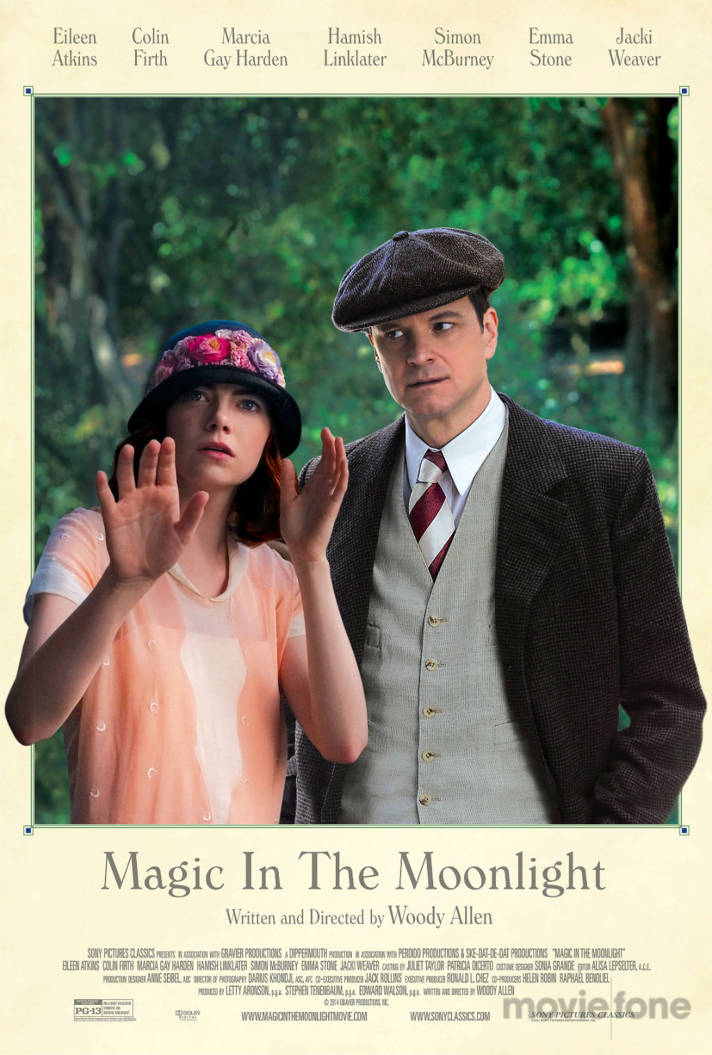 Magic in the Moonlight affiche américaine