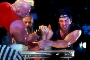 Sylvester Stallone dans Over The top, de Menahem Golan (1986). Un cruel revers commercial pour la star et le studio...