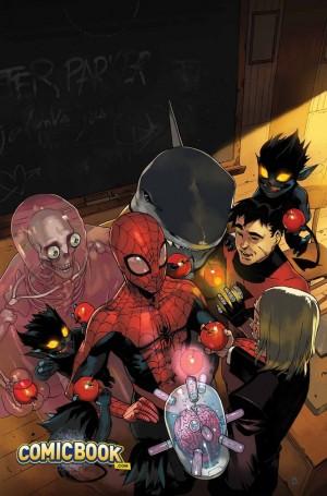 Spider-man & the X-men par Bengal
