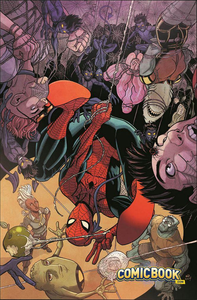Une nouvelle ligne sur le C.V de Spider-man
