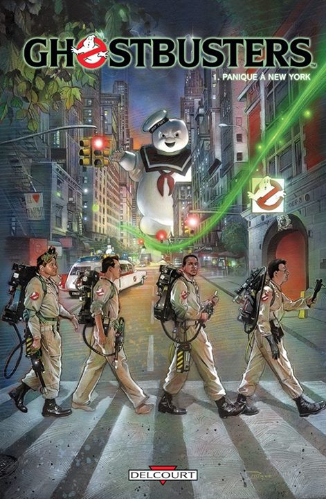 On a lu… Ghostbusters – Tome 1 : Panique à New-York