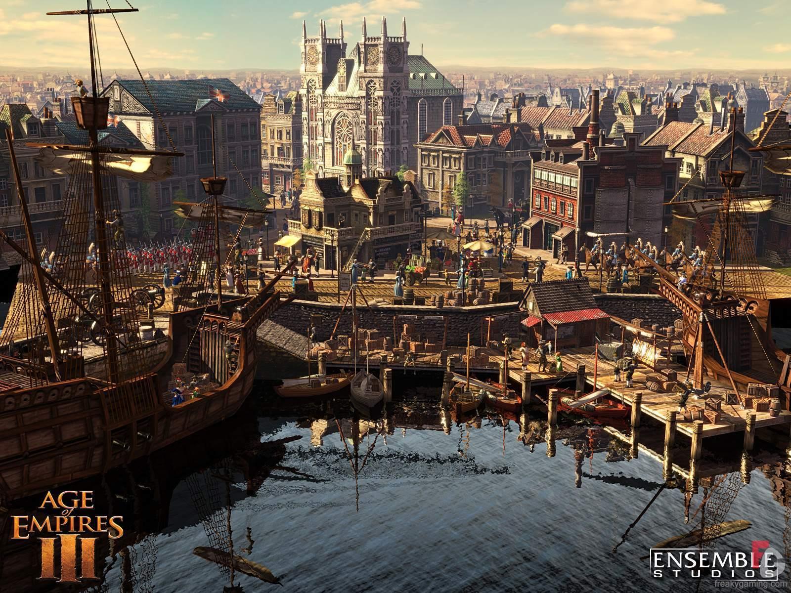 Age of Empires III métropole