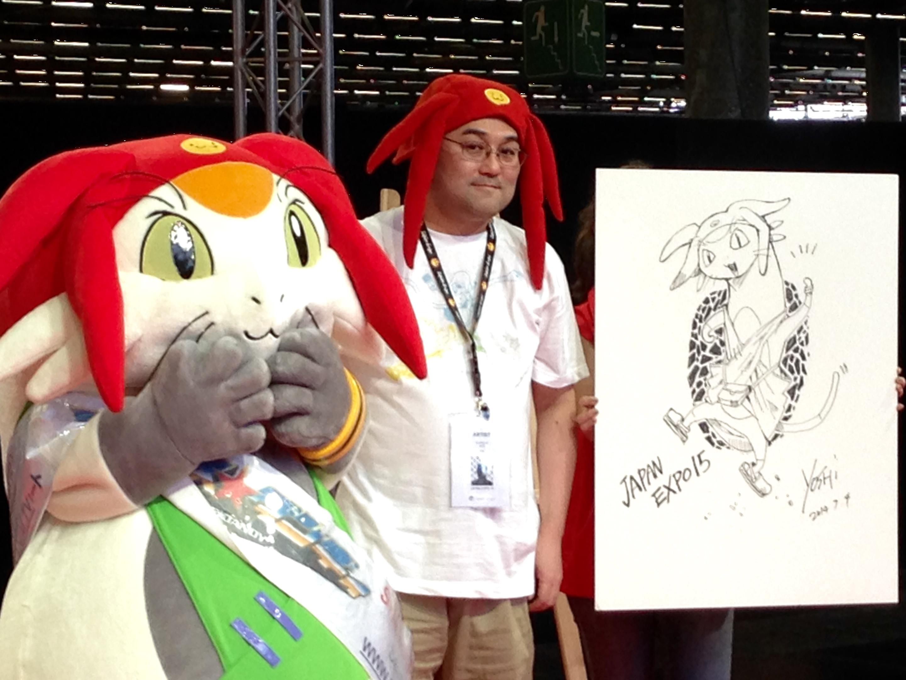 Japan Expo 2014: Interview de Yoshiyuki Itô