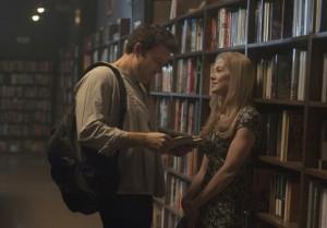 L'amour à la bibliothèque.
