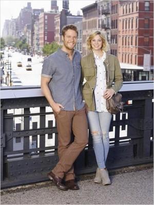 Manhattan Love Story couple
