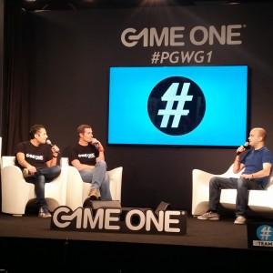 Marcus sur la scène de Game One