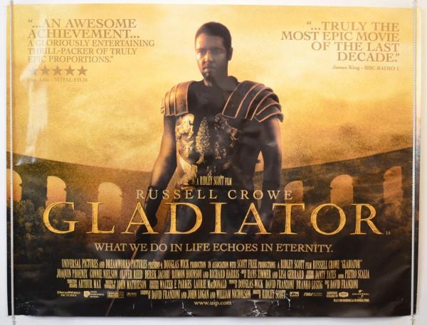 Petit, tu aimes les films de gladiateurs ?