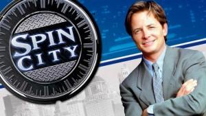 Michael J. Fox (avant Parkinson) dans Spin City.