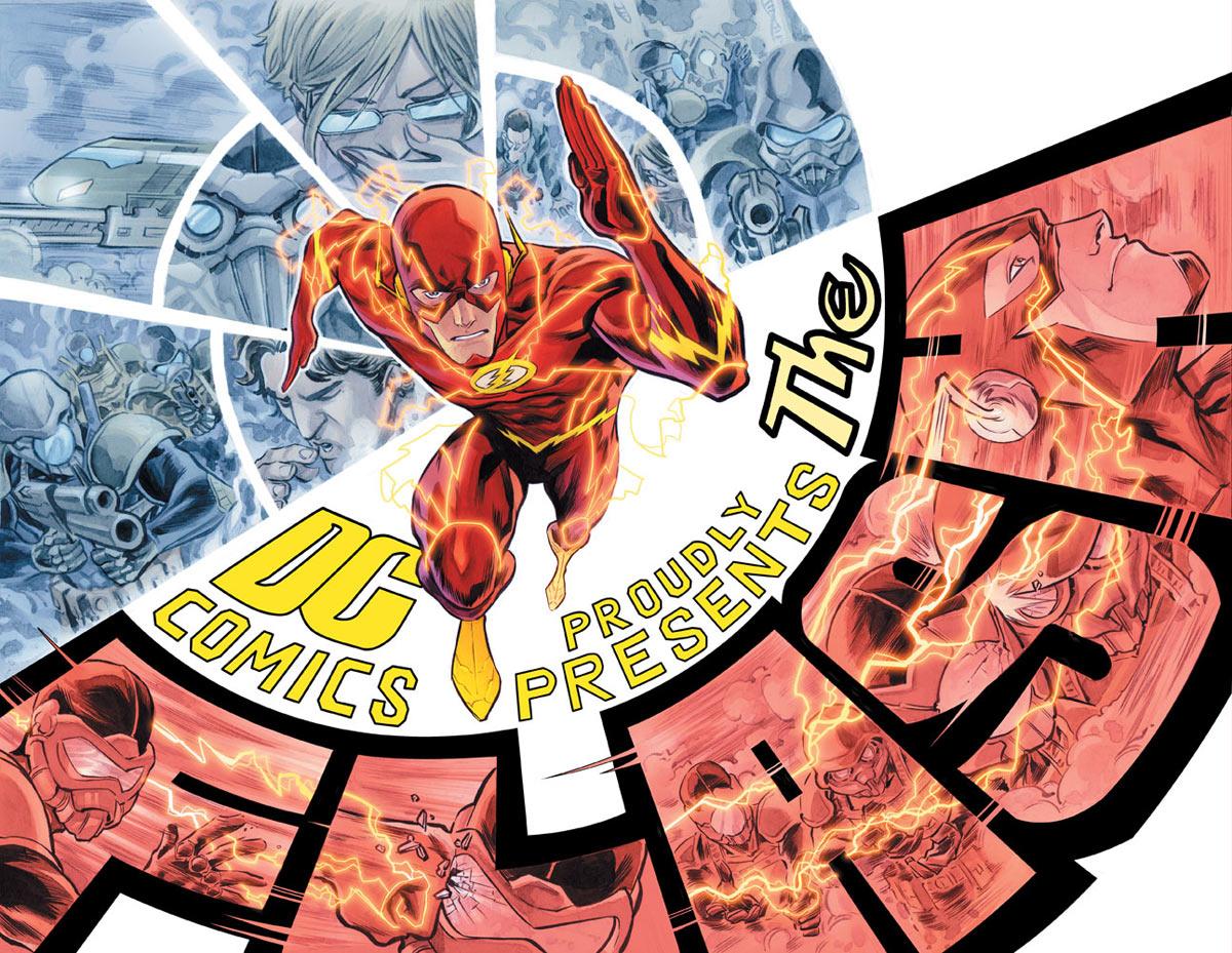 Une anthologie Flash prévue chez Urban Comics
