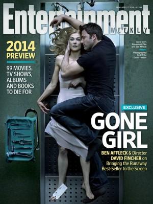 La magnifique couverture du magazine américain Entertainment Weekly, photographiée par Fincher himself.