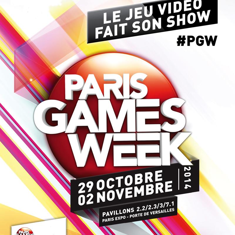 Le Paris Games Week 2014 ça démarre aujourd'hui !