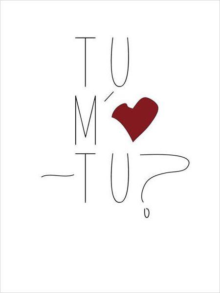 Tu M'Aimes-Tu ? : les fantômes de l'Amour passé, présent et futur