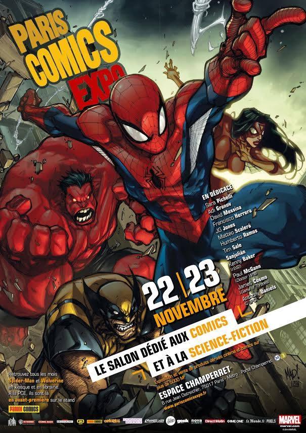 En attendant le Paris Comics Expo 2014