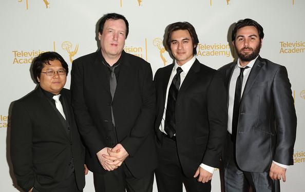 Des Doyle, l'âme du documentaire Showrunners (au centre) a accordé au Daily Mars un entretien passionnant.