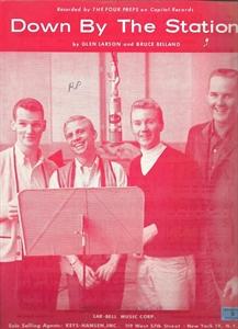 The Four Preps, le groupe dont faisait partie Glen A. Larson avant de devenir producteur télé.