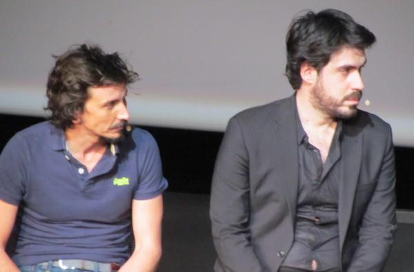 Arnaud Tsamère et Simon Astier. Photo Daily Mars