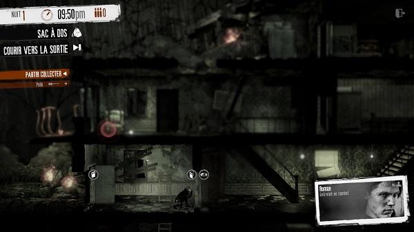 Le jeu retransmet assez intelligemment les sensations du personnage.