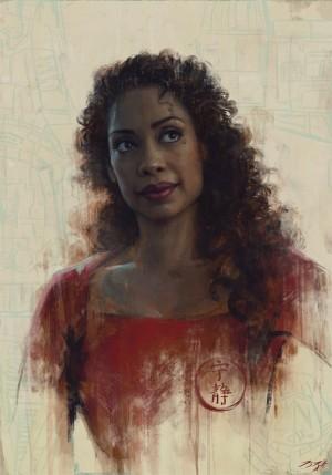orsque Whedon commença à écrire Wonder Woman, Gina Torres lui envoya un message disant que si le studio l'autorisait à embaucher une femme de couleur d'âge mûr pour le rôle, elle serait partante, puisque de toute façon elle était la seule vraie Amazone qu'il connaissait