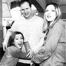 Alysson Hannigan, Amber Benson et Joss Whedon