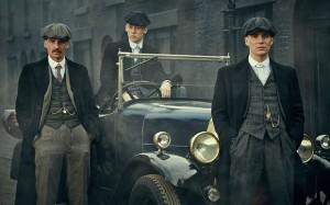 Arthur, John et Thomas.