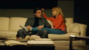 Abel et Anna Morales (Oscar Isaac et Jessica Chastain) : unis pour le meilleur et le pire à venir...