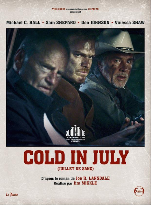 Dans le froid de Juillet (critique de Cold in July / Juillet de Sang)