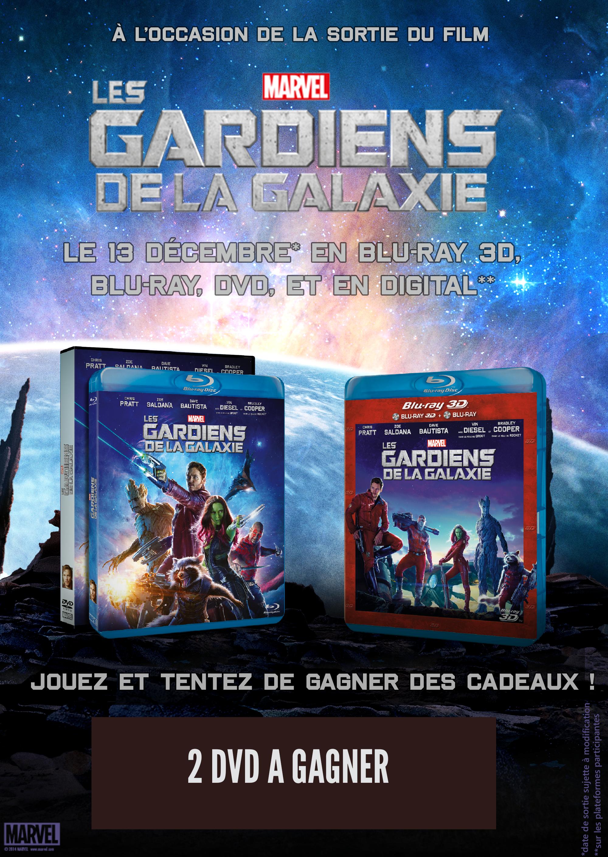 Concours gardiens Galaxie