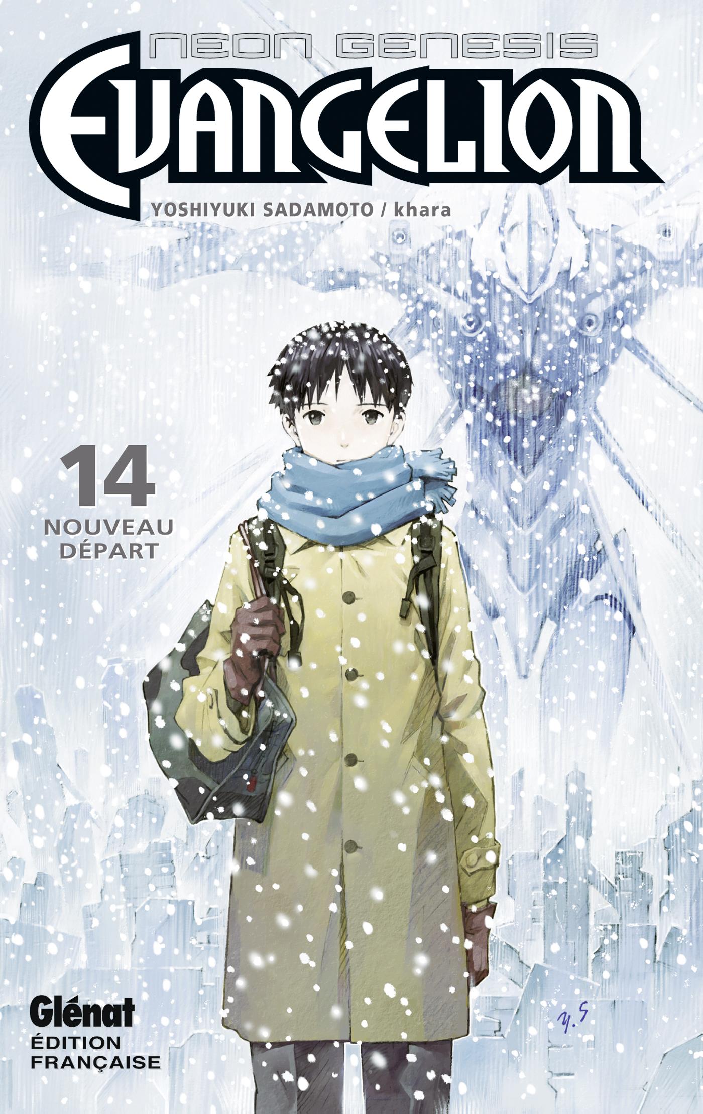 On a lu… Neon Genesis Evangelion (T.14) de Yoshiyuki Sadamoto