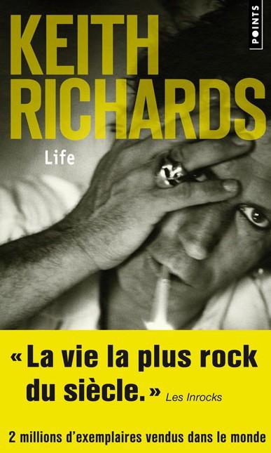 Papier A Musique : Life, de Keith Richards