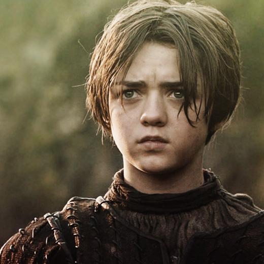 Un concept art d'Arya pour la saison 5 de Game of Thrones