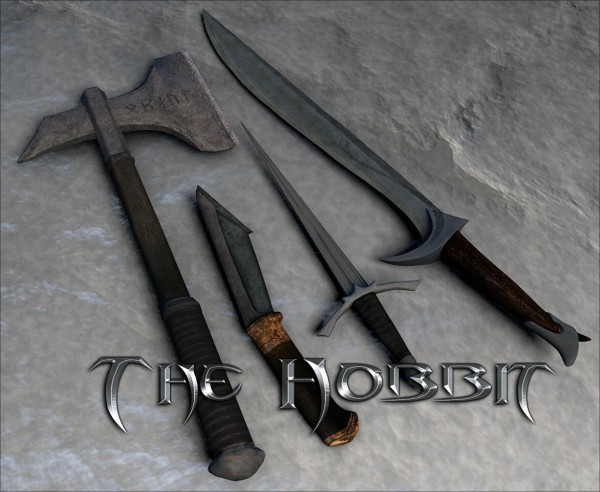 hobbit weapons pack