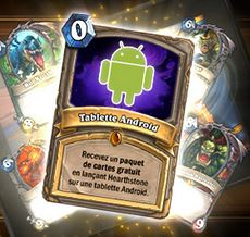 update : Hearthstone disponible sur Android