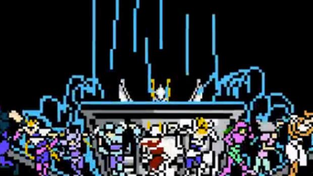 Saint Seiya en mode 8-bits