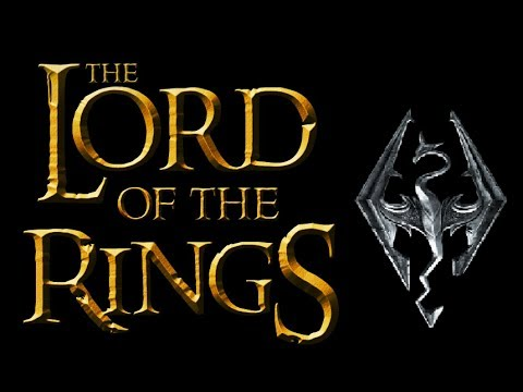 lord of the rings skyrim