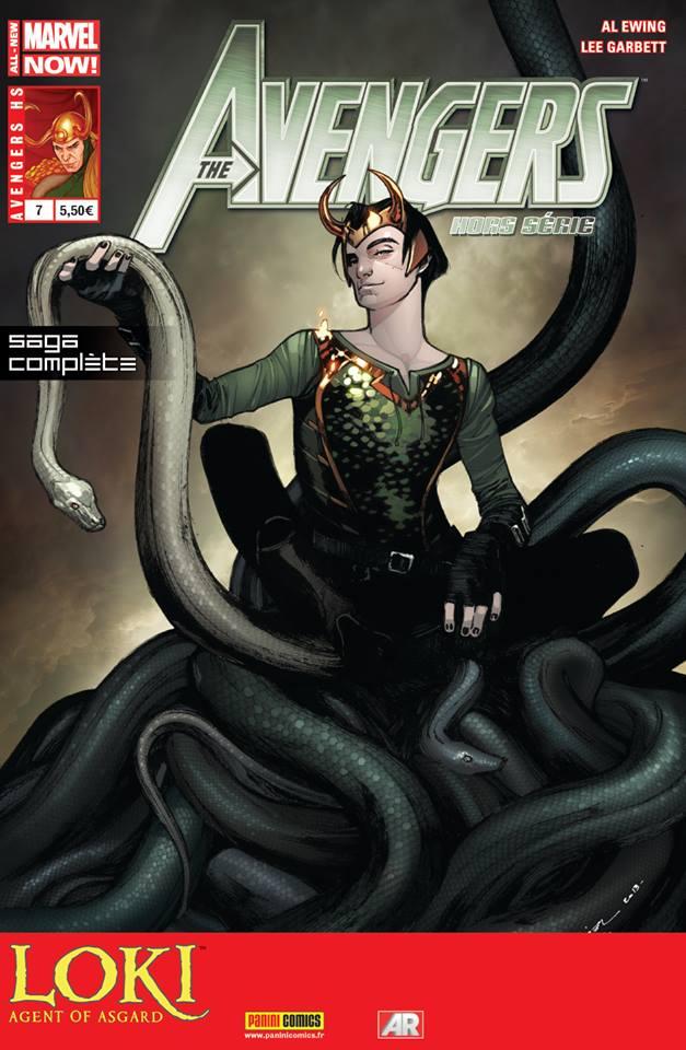 On a lu…Avengers HS n°7 – Loki : Agent of Asgard