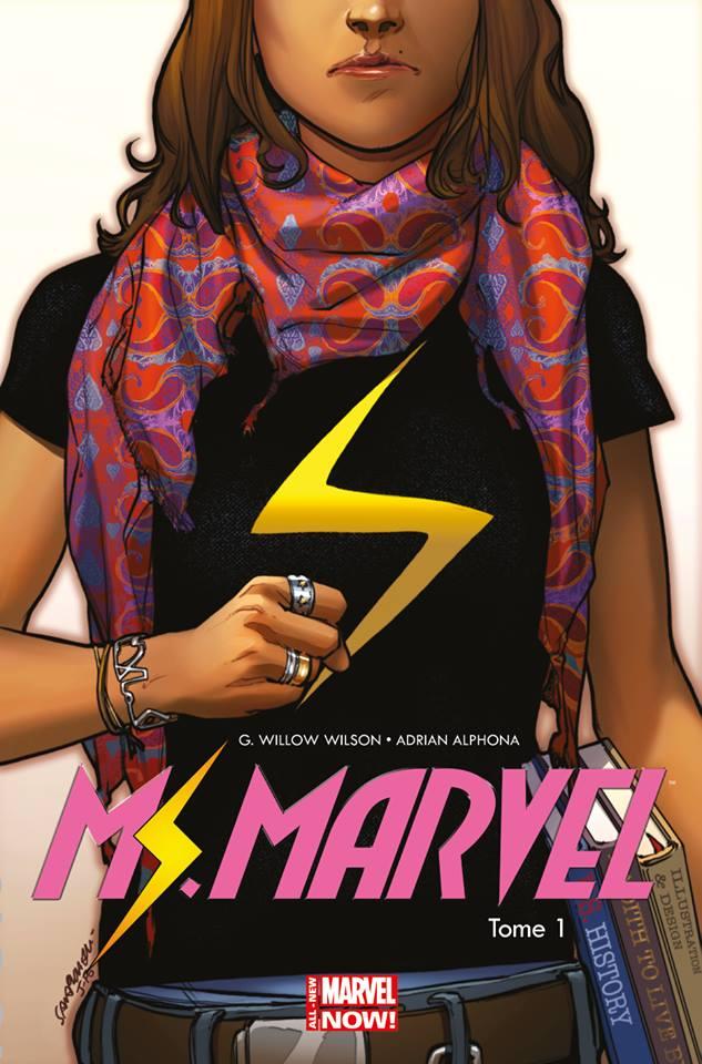On a lu…Miss Marvel – Tome 1 : Metamorphose