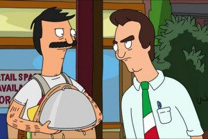 Les Junk Food Wars ont lieu depuis plusieurs saisons sur la FOX entre Jimmy Pesto (à droite) et Bob Belcher.