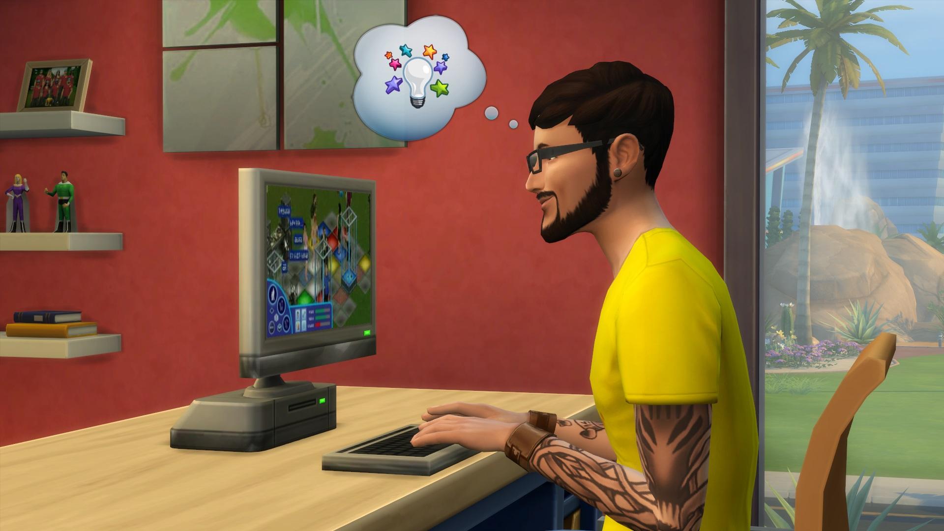 Les Sims 4 emménagent sur MAC.