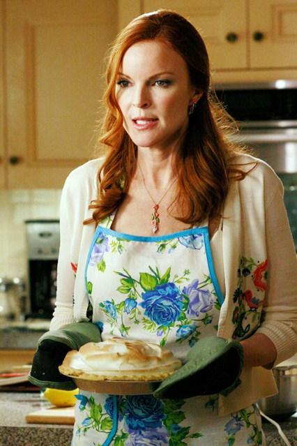 Bree Van De Kamp, partenaire officiel des mangeurs en séries.