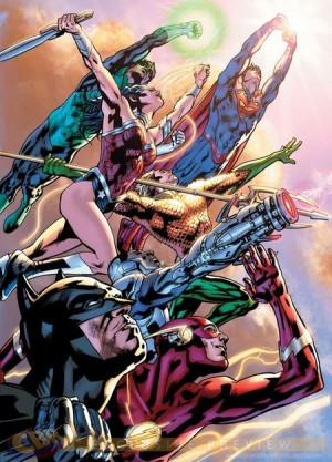 Justice League of America par Bryan Hitch