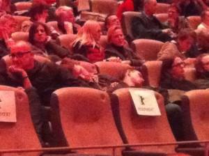 Deux spectateurs de la Berlinale vraiment très en forme.