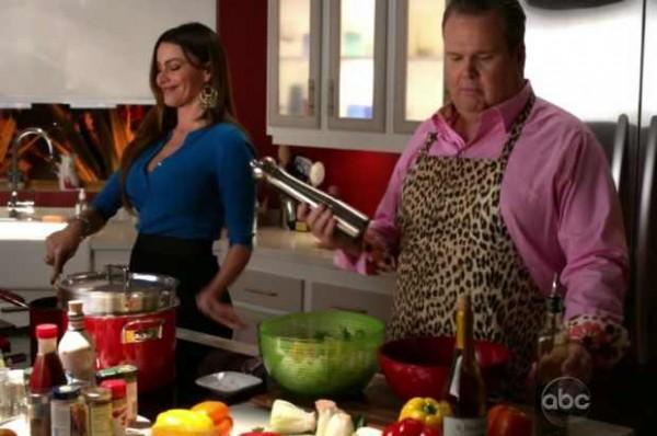 Dans Modern Family aussi, on cuisine beaucoup aussi.